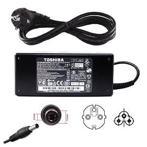 Chargeur alimentation de PC ordinateur portable 19V Toshiba Notebook