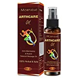 Morpheme Arthcare Oil For Joints, Muscular Pain, Back And Knee Pain (100 Ml)