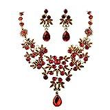 Ularmo Charm Prom Wedding Bridal Jewelry...