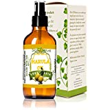 Slice Of Nature Pure Marula Oil Cold Pressed Wild Harvested Marula Oil for Face, Body, Hair - Marula Facial Oil - Marula Oil for Hair Treatment - Marula Oil Organic Sourced 4 Ounce