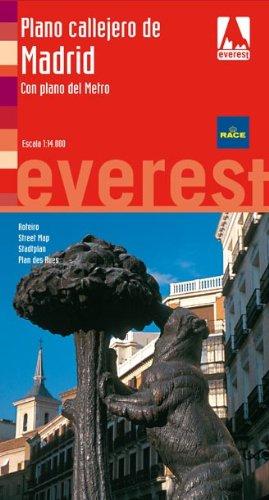 Plano Callejero de Madrid. Con plano del Metro (Planos callejeros / serie roja)
