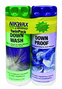 Buy Nikwax Down Wash Down Proof Twin Pack by Nikwax