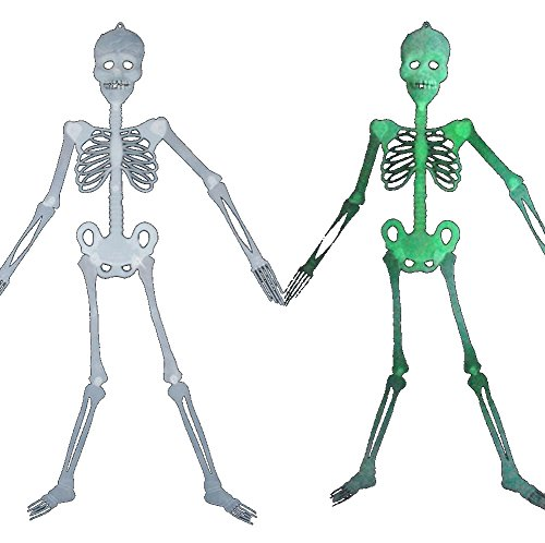 Keral Scary Green Bones Skeleton Boy Halloween Props Entire Toy