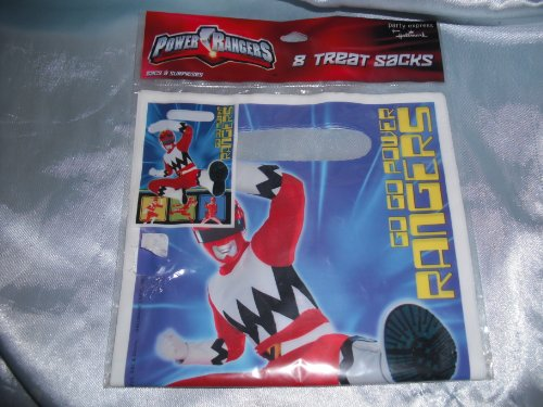 Power Rangers Loot Bags 8ct - 1