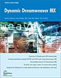 img - for Dynamic Dreamweaver MX book / textbook / text book