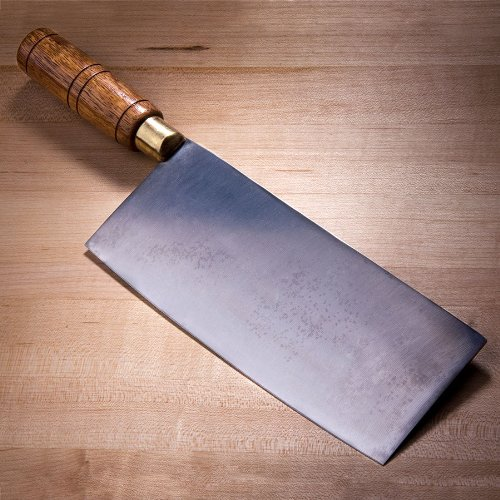 "8"" Chinese Cleaver With Wood Handle"