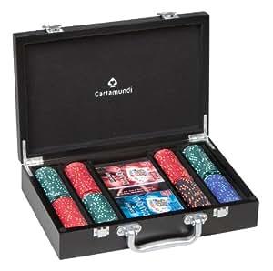 Cartamundi Diamond Luxury 200 Chips Poker Set