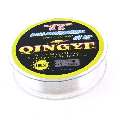 Dimart CleClear Spool 0.40mm 100M 16.5kg 36.4lbs Angling Tackle Fishing Line Stringr Spool 0.40mm 100M 16.5kg 36.4lbs Angling Tackle Fishing Line String