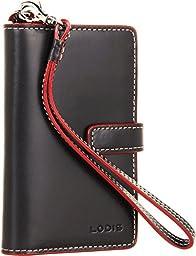 Lodis Audrey Cassie Phone Wallet, Black, One Size