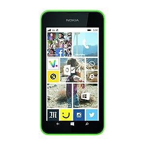 Nokia Lumia 530 Smartphone 3G (Ecran: 4 pouces - 4 Go - Windows Phone 8 - Double SIM) Vert