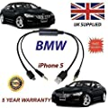 New Cable for BMW iPhone 5 5c 5s fits BMW Series 1, Z4, 6, 7, X1, X3, X5, X6 digital cable (For S6FLA)