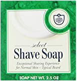 Van Der Hagen Select Shave Soap, 2.5-Ounce Boxes (Pack of 12)