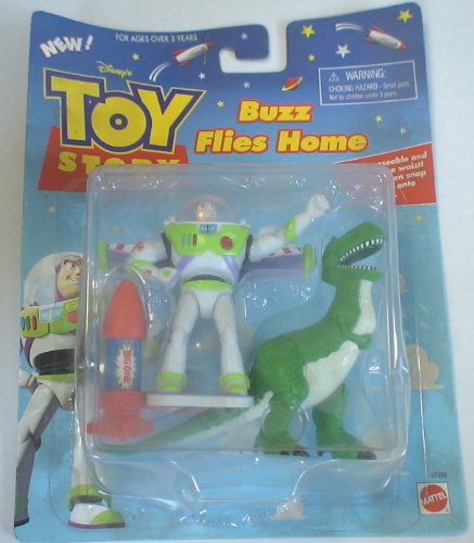 Toy Story Buzz Lightyear and Rex Figure Set