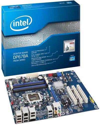 Intel Buffalo Flat LGA1155 Motherboard (P67 ATX, 1 PCIE x16,  3 SATA, USB 3.0, DDR3)