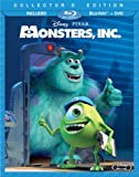 Monsters, Inc. (Three-Disc Collectors Edition: Blu-ray/DVD Combo in Blu-ray Packaging)