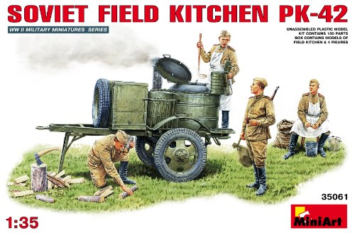Mini Art Plastics Soviet Field Kitchen KP-42