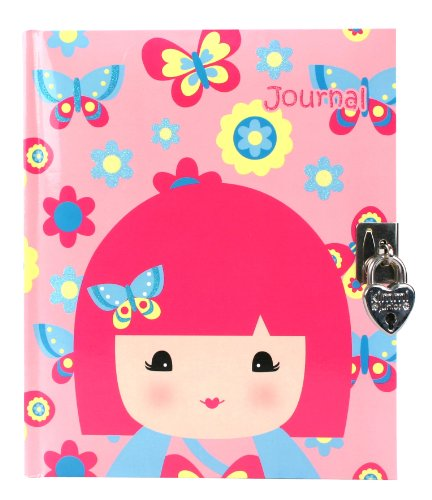 Kimmidoll Junior: Ellie  Lock-up Journal by Kids Preferred