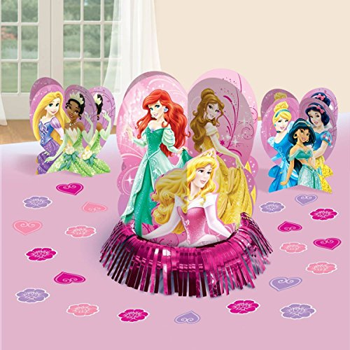 Disney Princess Party Table Decorations Kit ( Centerpiece Kit ) 23 PCS - Kids Birthday and Party Supplies Decoration - 1