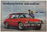 1975 AMC Pacer First Wide Small Car Double-Page Print Ad