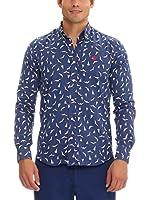 Galvanni Camisa Hombre Spiri (Azul Marino)