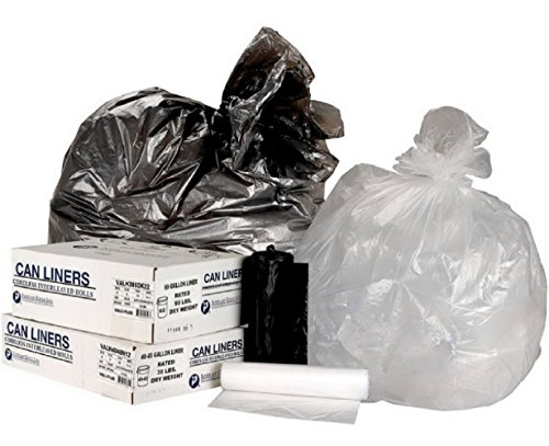 200 Trash Can Liners 55 - 60 Gallon Garbage Bags Commercial Coreless Roll, New!!! (Step Trash Can 5 Gallon compare prices)