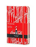 Moleskine Coca-Cola Limited Edition Notebook, Pocket, Ruled, Scarlet Red, Hard Cover (3.5 x 5.5)