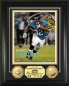 NFL Jacksonville Jaguars Maurice Jones-Drew Gold Coin Photo Mint by Highland Mint