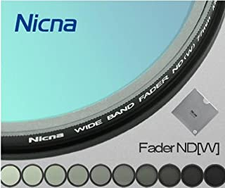Nicna 58mm Variable ND Filter 可変NDフィルター [減光範囲 ND2~ND400] ND Fader カメラ onsale