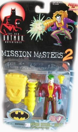 The New Batman Adventures Mission Masters 2 Hydro Assault Joker Action Figure - 1