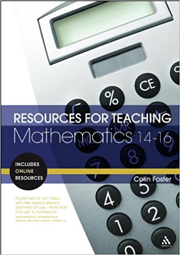 resources for teaching mathematics 14-16 book cover