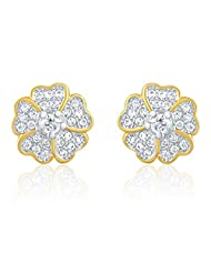 Mahi Gold Plated Earring With CZ For Women ER1103995G