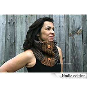 Knitting patterns, women and men knitting cowl pattern, scarf knitting