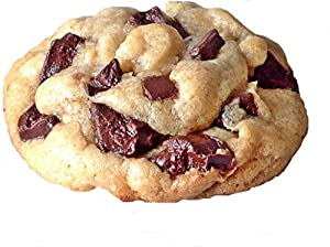 Cookies Fresh Baked Gourmet 3 Pound Chocolate Chip with Gift Box, Natural, Soft Baked & Chewy For Gift Giving Baby g'