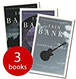 3 UNUSED FACTORY SHRINK WRAPPED BOOK SET BY IAIN BANKS: