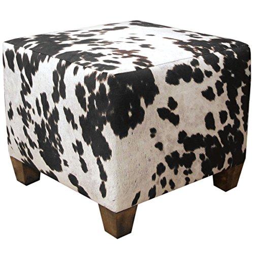 Skyline Furniture Domino Animal Print Fabric Ottoman (Skyline Outdoor Furniture compare prices)