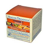Avalon Organics - Vitamin C Renewal Facial Renewal Cream - 2 oz. (Formerly Skin Nourishing Sun-Aging Defense)