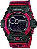 Casio GLS-8900CM-4ER - Reloj para hombres, correa de resina color rojo