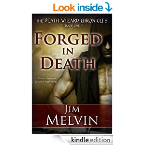 Forged in death book cover
