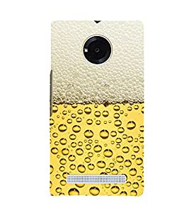 EPICCASE Beer Bottle Mobile Back Case Cover For YU Yuphoria (Designer Case)