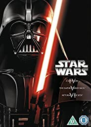 Star Wars: The Original Trilogy (Episodes IV-VI) [Region 2 DVD]