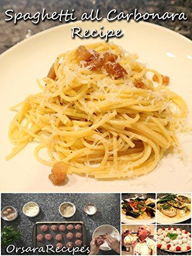 Spaghetti alla Carbonara Recipe on Amazon Prime Instant Video UK