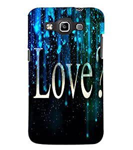 PrintDhaba Quote D-3443 Back Case Cover for SAMSUNG GALAXY WIN i8552 (Multi-Coloured)
