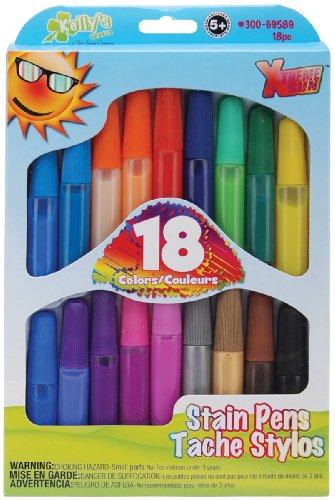 Stain Pens 18/Pkg-Bold - 1