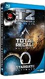 echange, troc Coffret SF culte - Stargate + Terminator 2 + Total Recall [Blu-ray]