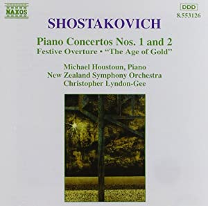 Piano Concertos Nos. 1 and 2 / Festive Overture / The Age of Gold Ballet Suite