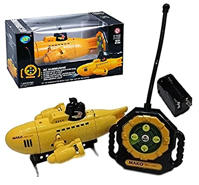 AMG Remote Controlled RC Submarine / RC Boat - Waterproof Mini RC Submarine with Unique Features - Fully Loaded - US Model