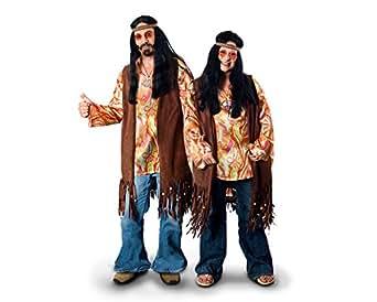 Sunnywood Women's Plus-Size Lava Diva Hippie Costume Vest, Brown, X-Large