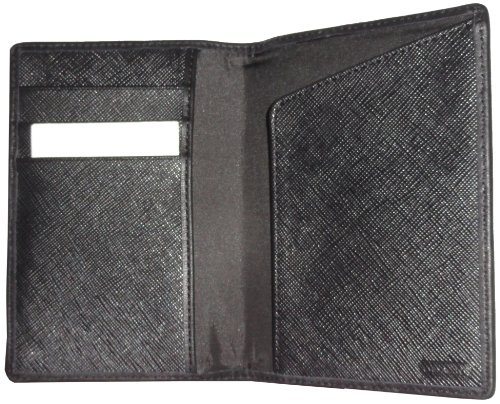 Coach   Coach Heritage Signature Passport Case Cover F68667 New Model (Charcoal/Black)