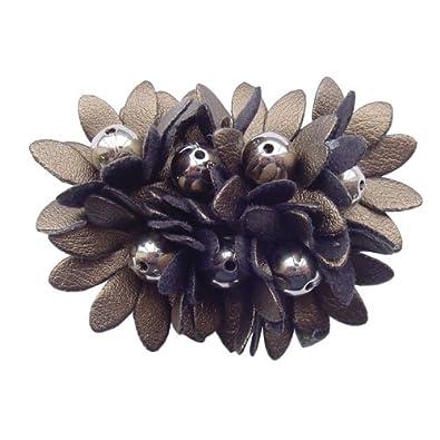 Burnt Copper Flower Shoe Clip (Pair)