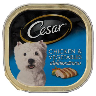 Cesar Chicken And Vegetable 3.52Oz